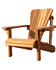 Crystal Clear Stained Adirondack